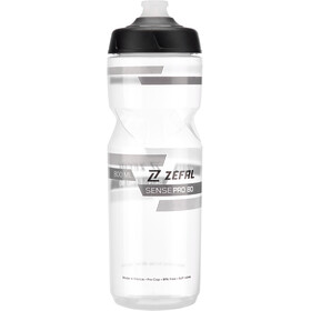 Zefal Sense Pro Drinking Bottle 800ml transparent